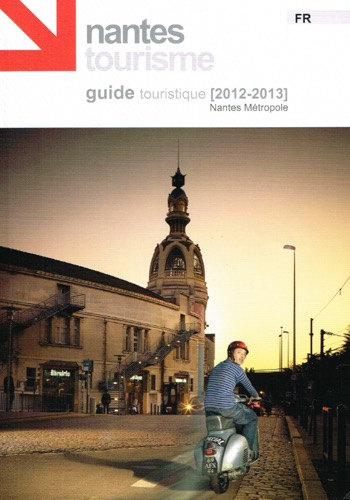 Une du guide de l 39 office de tourisme de nantes m tropole 2012 boyscoot shop - Office du tourisme nantes ...